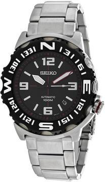Seiko Superior SRP445K1 Men's Round Silver Stainless Steel Watch