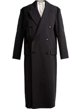 Awake Double-breasted cotton coat