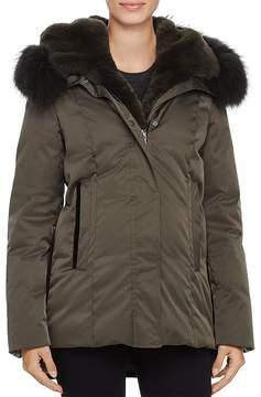 Dawn Levy Luka Fur Trim Down Coat