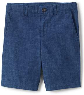 Lands' End Lands'end Boys Chambray Cadet Shorts