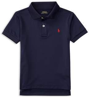 Ralph Lauren Childrenswear Boys' Stretch Lisle Solid Polo Shirt - Little Kid