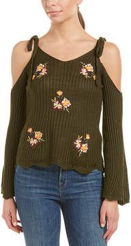 Flying Tomato Embroidered Sweater