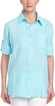 Allen Allen Linen Woven Shirt