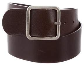 Brunello Cucinelli Leather Buckle belt