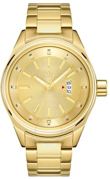 JBW Rook Gold-tone Dial Gold-tone Stainless Steel Men's Watch
