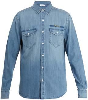 Frame Patch-pocket denim shirt
