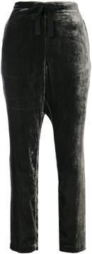 Bellerose velvet drawstring trousers