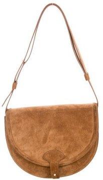 Maiyet Suede Icon Saddle Bag