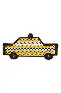 Kate Spade Ashe Place Sequin Taxi Permanent Sticker - Yellow - YELLOW - STYLE