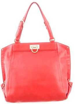 Salvatore Ferragamo Leather Handle Bag