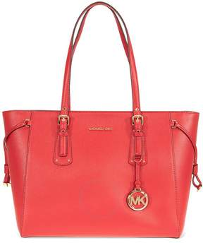 Michael Kors Voyager Medium Multifunction Tote - Bright Red - ONE COLOR - STYLE