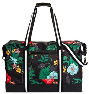 Mossimo Supply Co. Women's Tropical Print Weekender Bag - Mossimo Supply Co. Black