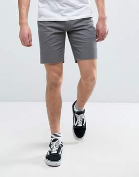 Brixton Chino Shorts With Raw Hem