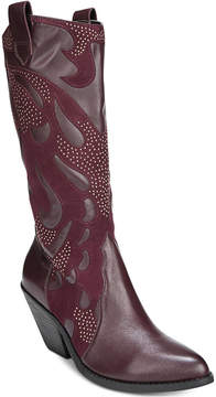 Carlos by Carlos Santana Axel Studded Western Boots Women's Shoes