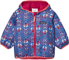 Patagonia Baby Reversible Puff-Ball Jacket Tipikat: Oasis Blue