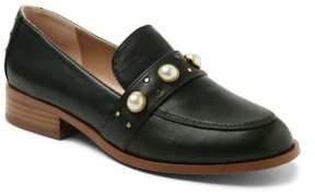Kensie Gareth Faux Pearl-Embellished Loafers