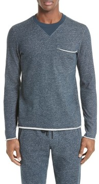 ATM Anthony Thomas Melillo Men's Raw Cut Terry Sweatshirt