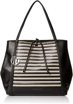 Armani Exchange A X Big Shopping Tote Bag
