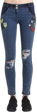 Freddy Stretch Cotton Leggings W/ Patches