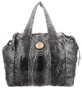 Gucci Python Large Hysteria Tote - BLACK - STYLE