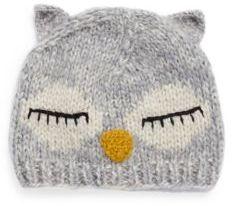 San Diego Hat Company Knit Sleeping Owl Beanie