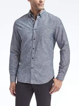 Banana Republic Grant Slim-Fit Chambray Shirt
