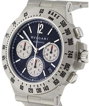 Bulgari Diagono Terra Chronograph with Date 40mm Mens Watch