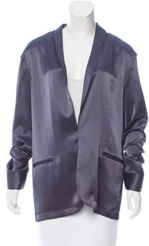 Baja East Casual Shawl Collar Blazer