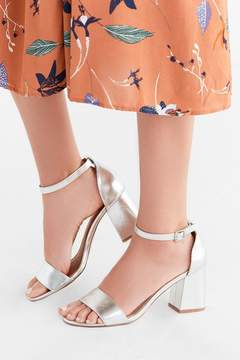 Urban Outfitters Linda Metallic Heel