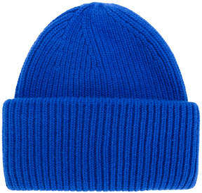 Golden Goose Deluxe Brand ribbed beanie hat