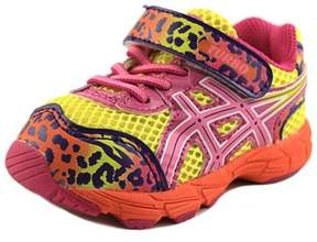 Asics Turbo Ts Round Toe Synthetic Running Shoe.