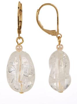 Carolee Nugget Drop Earrings