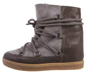 Etoile Isabel Marant Nowles Wedge Boots w/ Tags