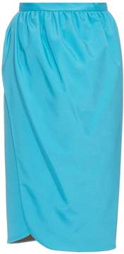 Emilio De La Morena Saima stretch-silk wrap skirt