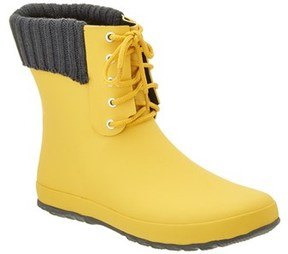 dav Coachella Lace Rain Boot.