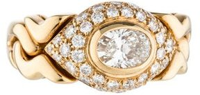 Bvlgari 18K Diamond Ring