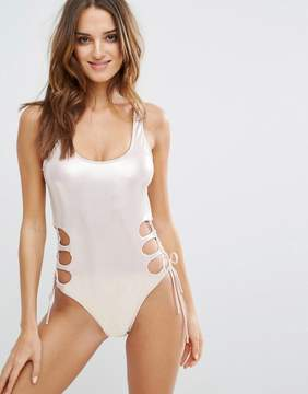 Bikini Lab Cut Out Swimsuit