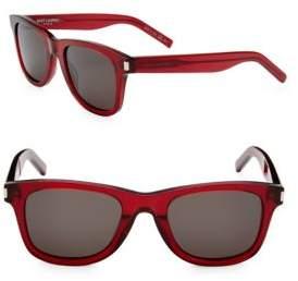 Saint Laurent 50MM Wayfarer Sunglasses