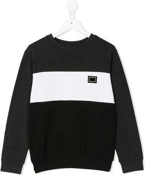 Antony Morato logo patch sweatshirt
