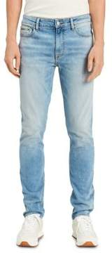Calvin Klein Jeans Roxy Destructed Skinny-Fit Jeans