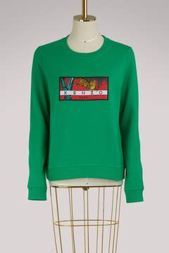 Kenzo Cotton Tiger Archive sweatshirt