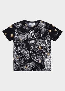 Versace Barocco Stars T-Shirt