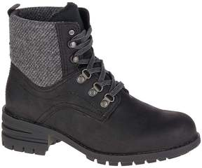 CAT Footwear Black Taylor Leather Ankle Boot