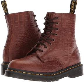 Dr. Martens Pascal Croc 8-Eye Boot Women's Lace-up Boots