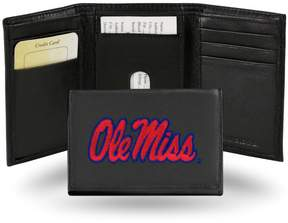 Rico NCAA Embroidered Leather Trifold Wallet - Ole Miss
