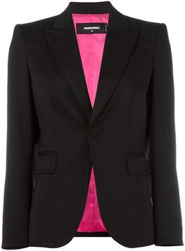 DSQUARED2 notched lapel button blazer