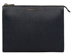 Michael Kors Women's Blue Leather Clutch. - BLUE - STYLE