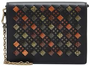 Bottega Veneta Snakeskin and leather clutch