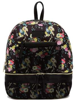Steve Madden Floral & Mesh Backpack