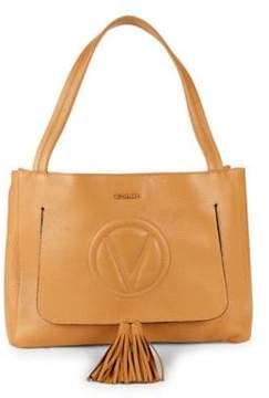 Mario Valentino Olie Cutout Leather Shoulder Bag